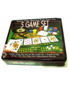 Набор для покера с рулеткой, , 270грн, Набор для покера, , Покер