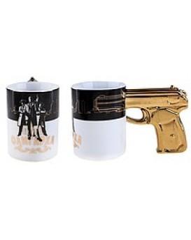 Кружка пистолет - Путь олигарха, , 190грн, Кружка пистолет - Путь олигарха, , Прикольные кружки