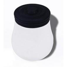 Горшочек, чашка из керамики с крышкой