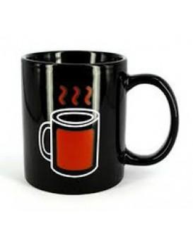Чашка хамелеон Горячий чай, , 150грн, Чашка хамелеон Горячий чай, , Прикольные кружки