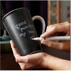 Керамическая чашка с крышкой Starbucks Memo с маркером