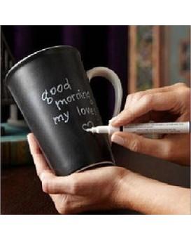 Керамическая чашка с крышкой Starbucks Memo с маркером, , 240грн, Керамическая чашка с крышкой Starbucks Memo с маркером, , Прикольные кружки