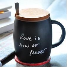 Керамическая чашка с крышкой из пробкового дерева Starbuks